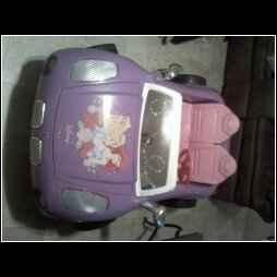 Disney Pontiac Solstice Princess Car Battery