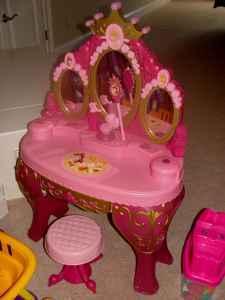 Radio Flyer Bike >> Disney Princess Talking Vanity - (Apex) for Sale in Raleigh, North Carolina Classified ...