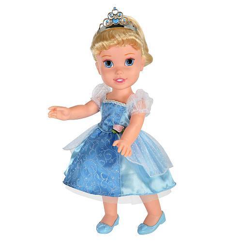 Disney Enchanted Nursery Cinderella Baby Doll In Blue: Disney Princess Toddler Doll