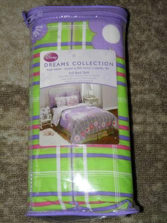 Disney Royal Horses Dream Collection Full Bed Skirt
