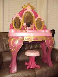 Disney Talking Light Up Princess Vanity Set Prunedale
