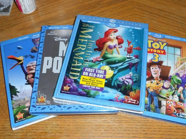 DISNEY Used Blu Rays For Sale! Pirates, TRON & MORE