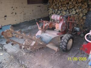 Ditch Witch Walk Behind Trencher South Range Wi For