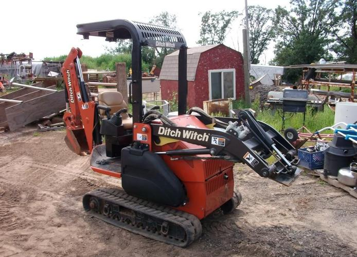 ditch witch xt850 excavator for sale in duluth minnesota