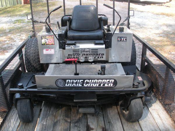 Dixie Choppers 72 Deck Mower With Trailer Guyton For