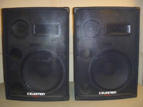 Dj Band P A Speakers Celestion Cr 153 For Sale In