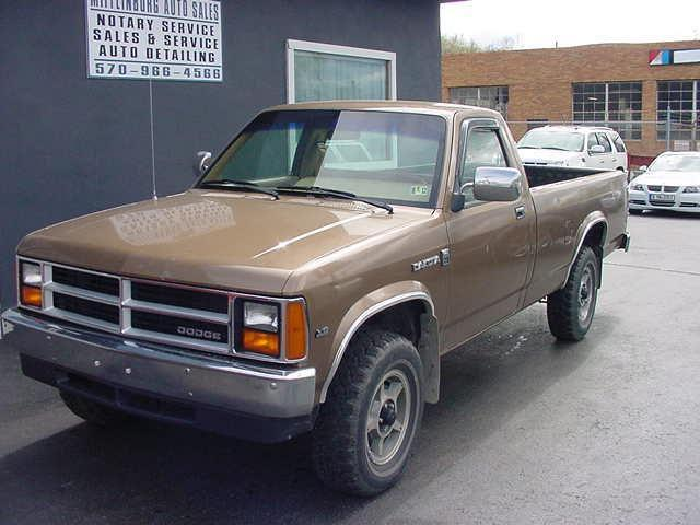 dodge dakota 1988 1988 dodge dakota car for sale in mifflinburg pa. Black Bedroom Furniture Sets. Home Design Ideas
