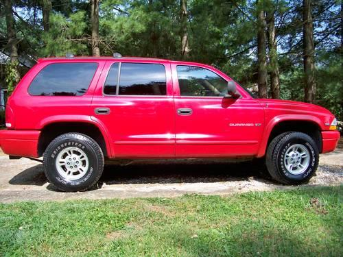 dodge durango 1998 red beautiful exterior and interior for sale in johnson city tennessee. Black Bedroom Furniture Sets. Home Design Ideas
