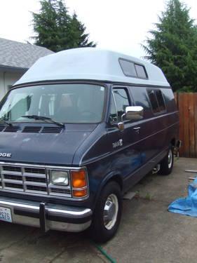 Dodge RAM Conversion Camper Van