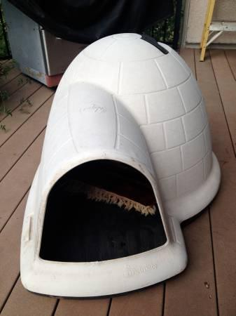 DOG house Igloo - $50