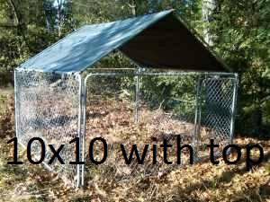 Dog Kennel 10x10 New For Sale In Raleigh North