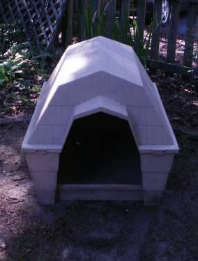 Dogloo Dog Hauz Large Plastic Dog House Electric Heating
