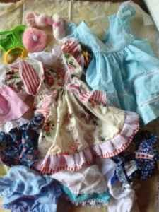 Doll clothes - $8 Gray Court