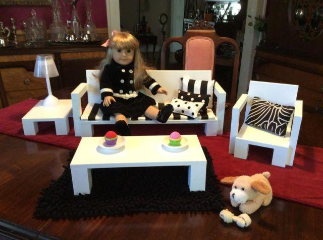 Doll Jewelry, Furniture  Accessories for 18 or American Girl Doll