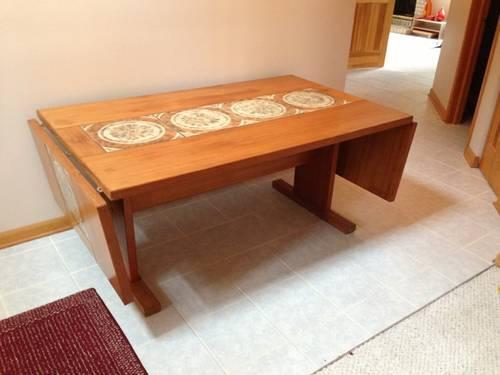 Domino Mobler Danish Modern Dining Room Set for Sale in Algonquin ...