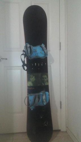 Don 60, Atomic (160cm) snowboard WITH bindings