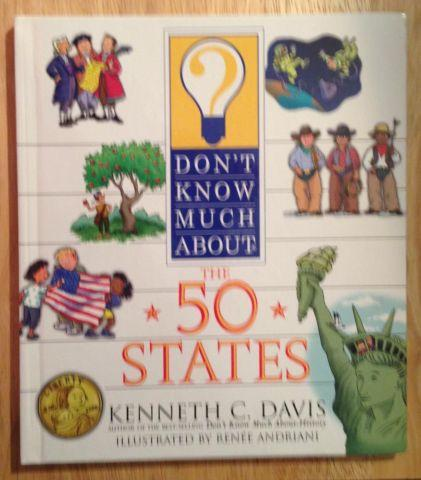Don't Know Much About the 50 States Hardcover – July