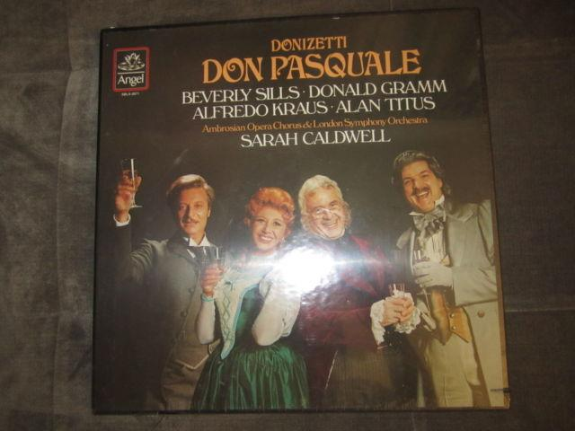 Donizetti's Don Pasquale 2-LP set, new in box, sealed,