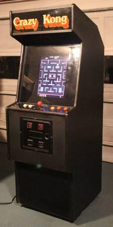 Donkey Kong Ms. Pac-Man, Galaga - 60-in-1 Multicade Arcade Machine - $850