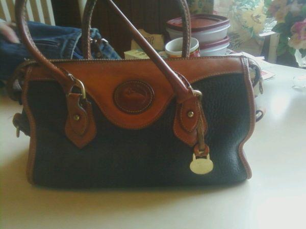 Dooney Bourke All Weather Leather Purse - $100 Sweet Home OR