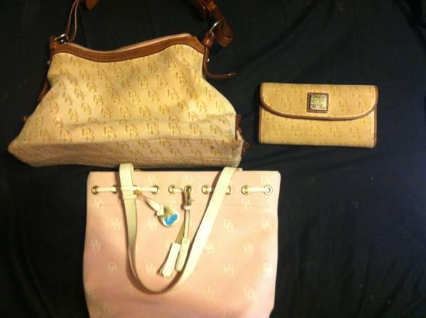 dooney  bourke purses and matching wallet - $50