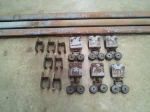 Door Track and Rollers for Sliding Doors / Barn Doors ...