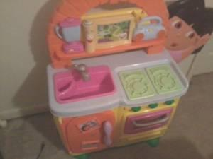 Dora Kitchen Princess Vanity Little Tikes Table And Chair
