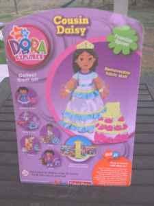Dora The Explorer Talking Dollhouse Figures - Cousin Daisy ...