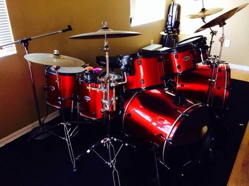 double bass drum kit for sale in deer island florida classified. Black Bedroom Furniture Sets. Home Design Ideas