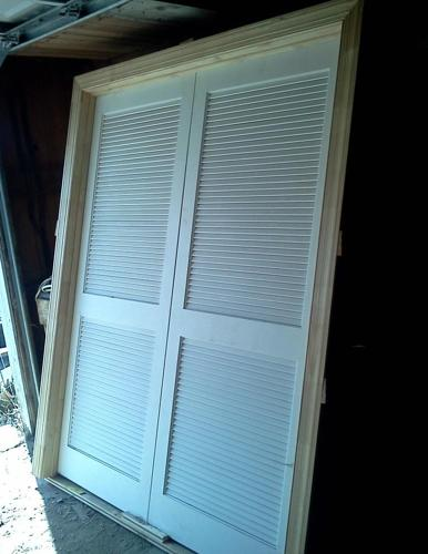 DOUBLE LOUVERED DOORS - (NEW LEBANON) for Sale in Dayton ...