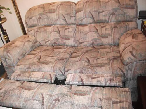 Double-Reclining Loveseat -- Used; Great Condition