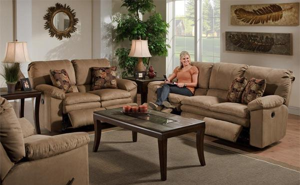 Double Reclining Sofa Or Loveseat From Columbus Ohio Furniture Store Columbus For Sale In
