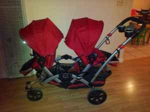 Double Stroller Kolcraft Contours Salinas For