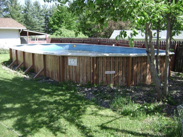 Doughboy Above Ground Pool Merrill For Sale In Wausau Wisconsin Classified