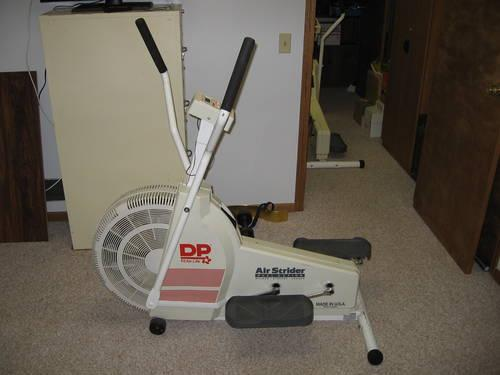 DP Air Strider Elliptical - Dual Action Walker Stepper