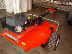 DR pull behind mower, clean - $2950 (springfield mo)