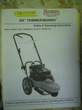DR Trimmer/Mower (Weed wacker on wheels) for Sale in ...