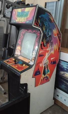 Dragon Spirirt Arcade Machine