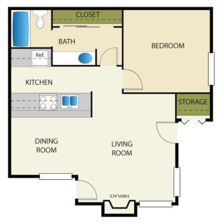 Dreams do come true Hanford map for rent in Visalia California
