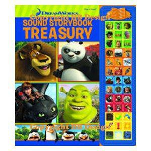 DreamWorks Sound Storybook Treasury Interactive