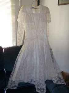 dress vintage dress all lace great price sparks