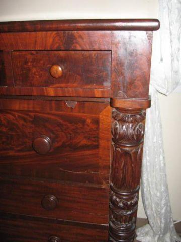 Dresser antique Empire mahogany