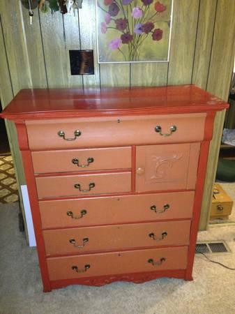 Dresser antique vintage empire w cabinet for chamber pot for Furniture wenatchee