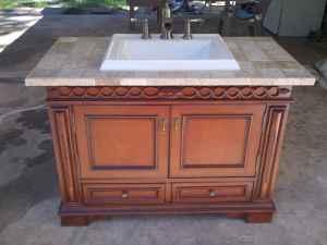 Bathroom Vanity  Sink on Dresser Style Bathroom Vanity Sink    500  Theodore  Al   For Sale In