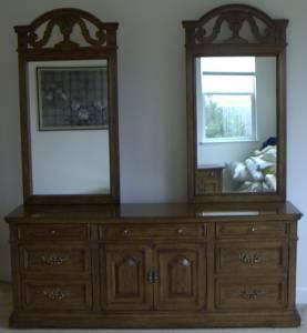 Drexel heritage solid wood 6 piece bedroom set el dorado hills for sale in sacramento for Bedroom furniture in sacramento