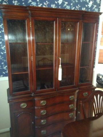 Drexel New Hampton Court Collection China Hutch For Sale