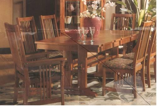 Drop leaf dining room table with chairs for sale in