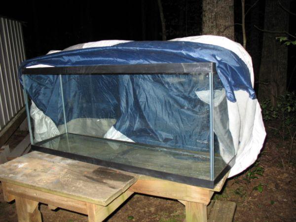 Dry Tank 55 Gallon All Glass Aquarium Swannanoa For