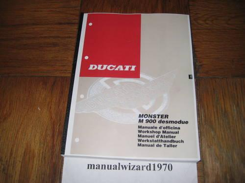 Ducati 999S Service Shop Repair Manual Part 91470491D
