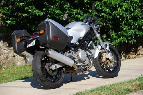 Ducati Monster Motorcycle Hard Luggage Bags For Sale In